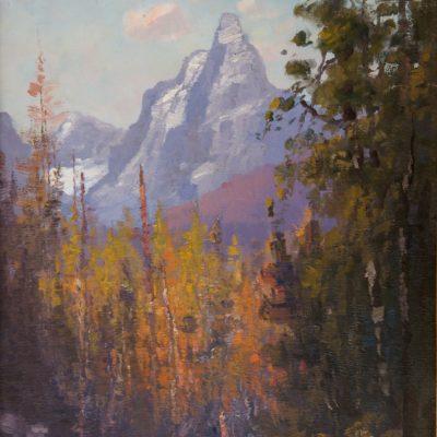 John Fery, Mt. Saint Nicholas, oil, n.d., 2001.1.1