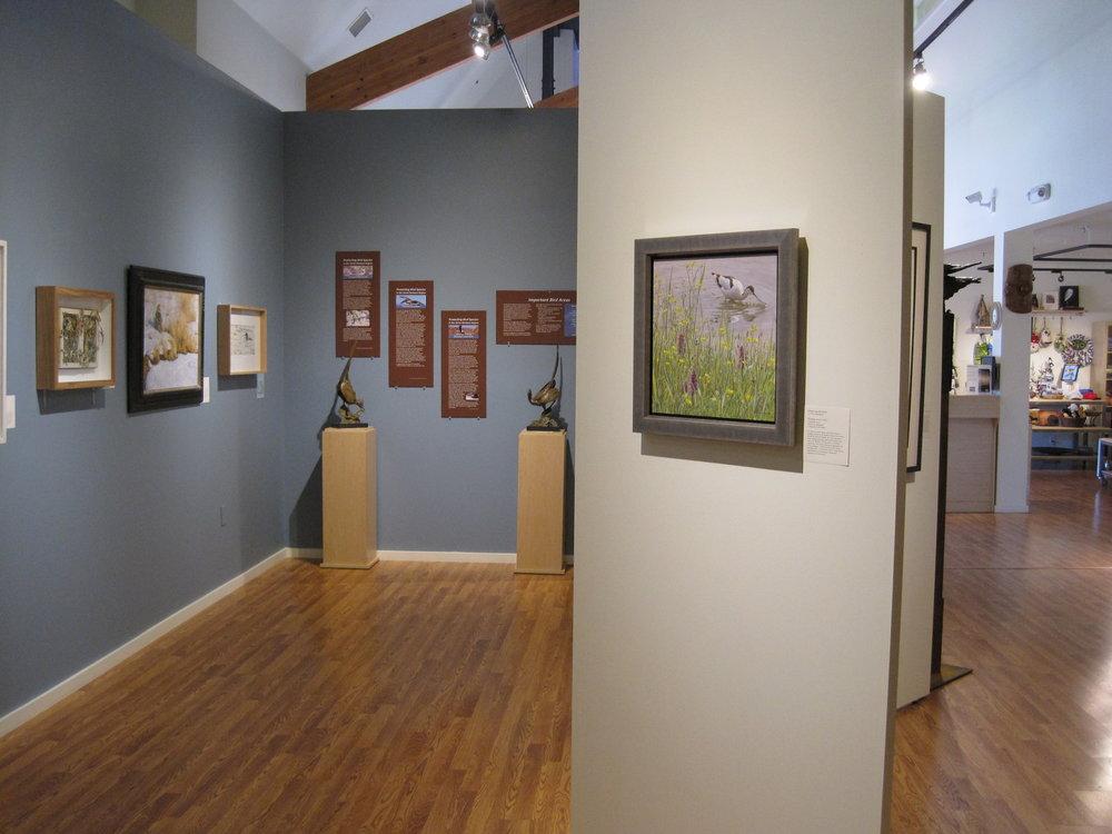 Birds in Art Exhibit pic 1.JPG