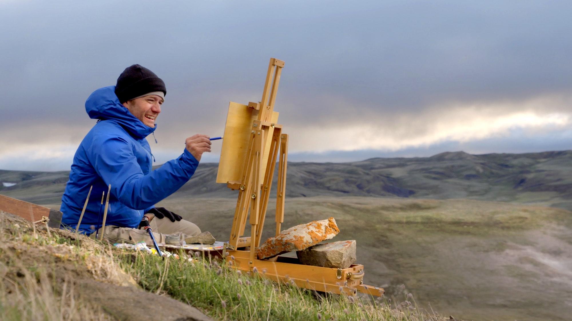 ITA-Awakening, Painting, Aulavik National Park, Cory Trepanier©2015.jpg