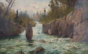 John Fery, Cascade on the Firehole, 1912