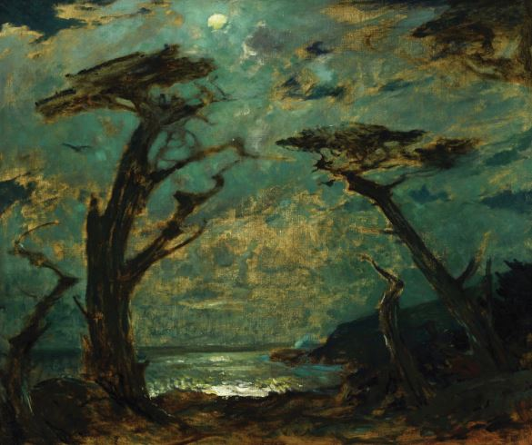 William Frederick Ritschel, Nocturne Cypress Monterey