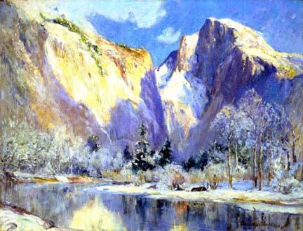 Colin Campbell Cooper, Half Dome, Yosemite