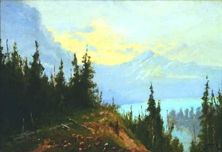 John Fery, Blue Lake (Glacier Park)