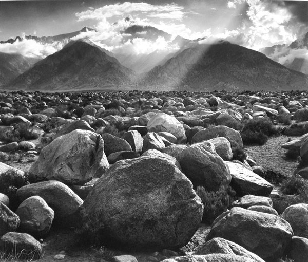 Mount Williamson, The Sierra Nevada, from Manzanar, California, 1944