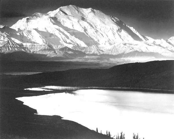 Mount McKinley and Wonder Lake, Denali National Park, Alaska, 1947