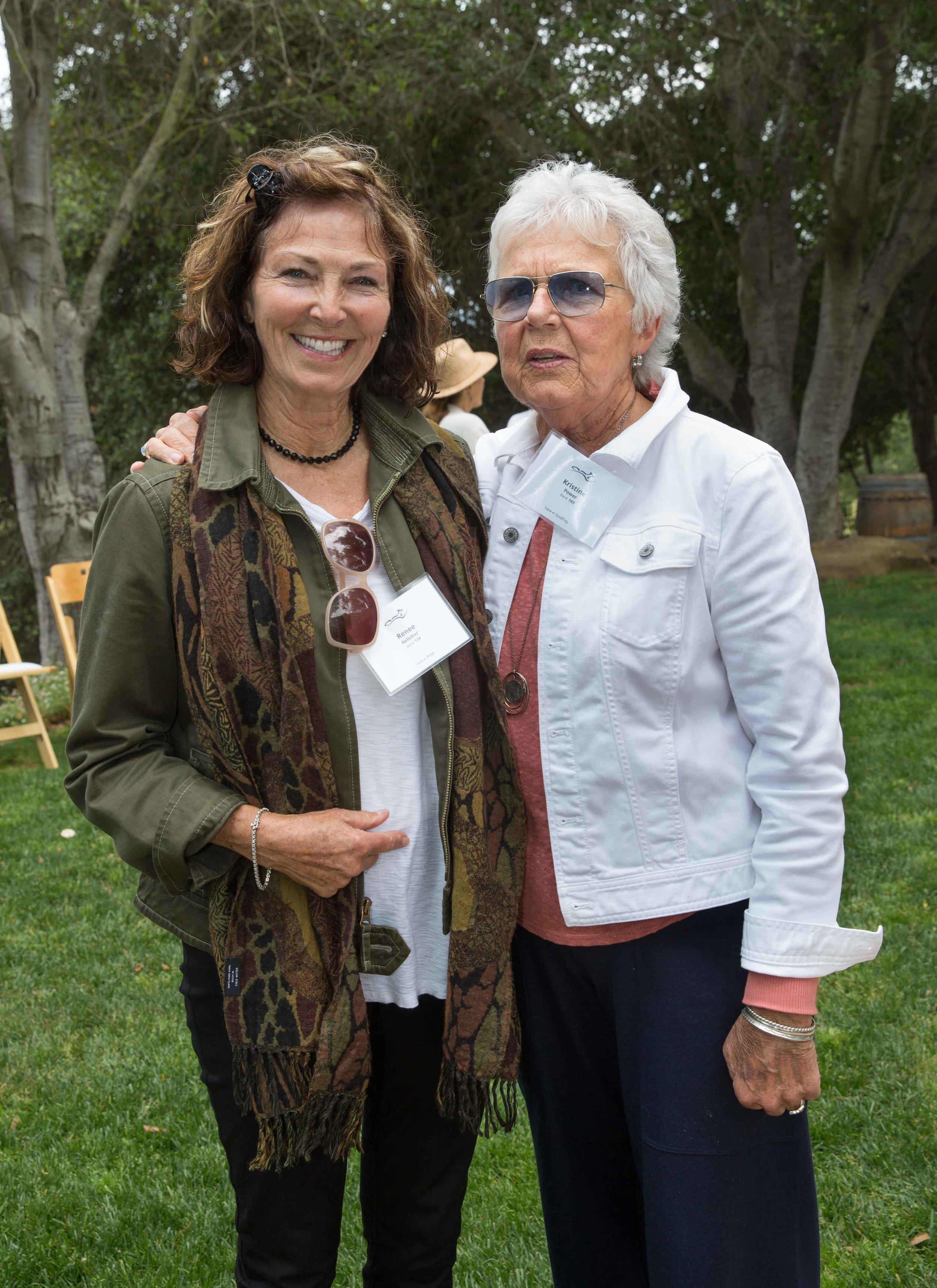 Kelleher Renee and Kristine Power, Board President
