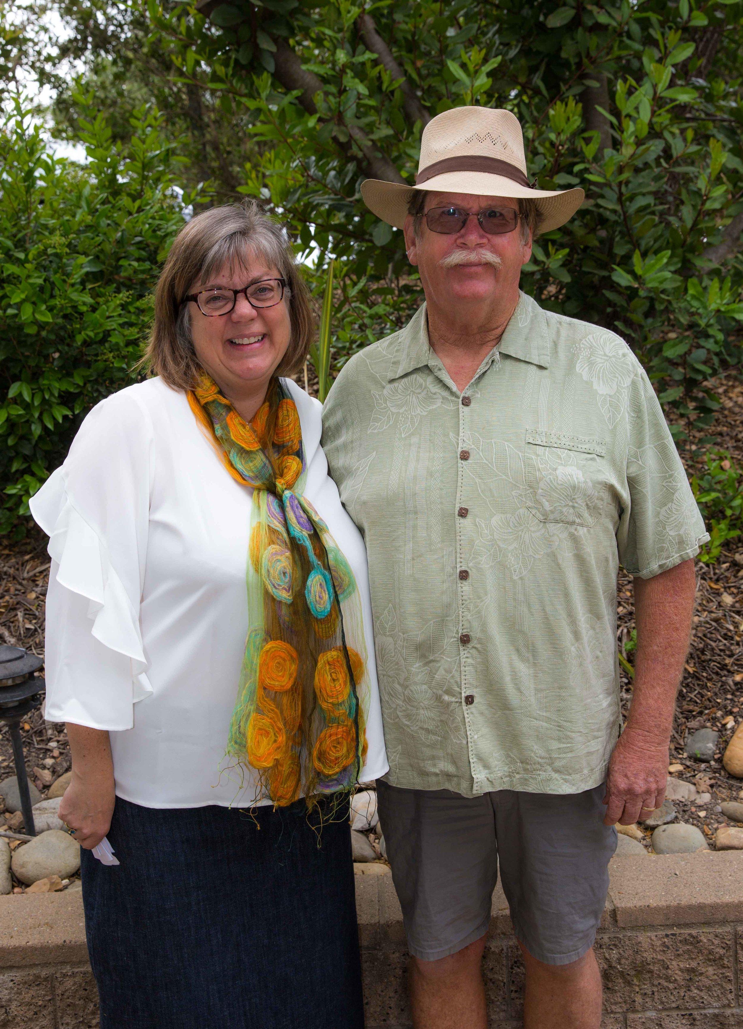 Stacey Otte-Demangate, Executive Director, and Peter Schuyler