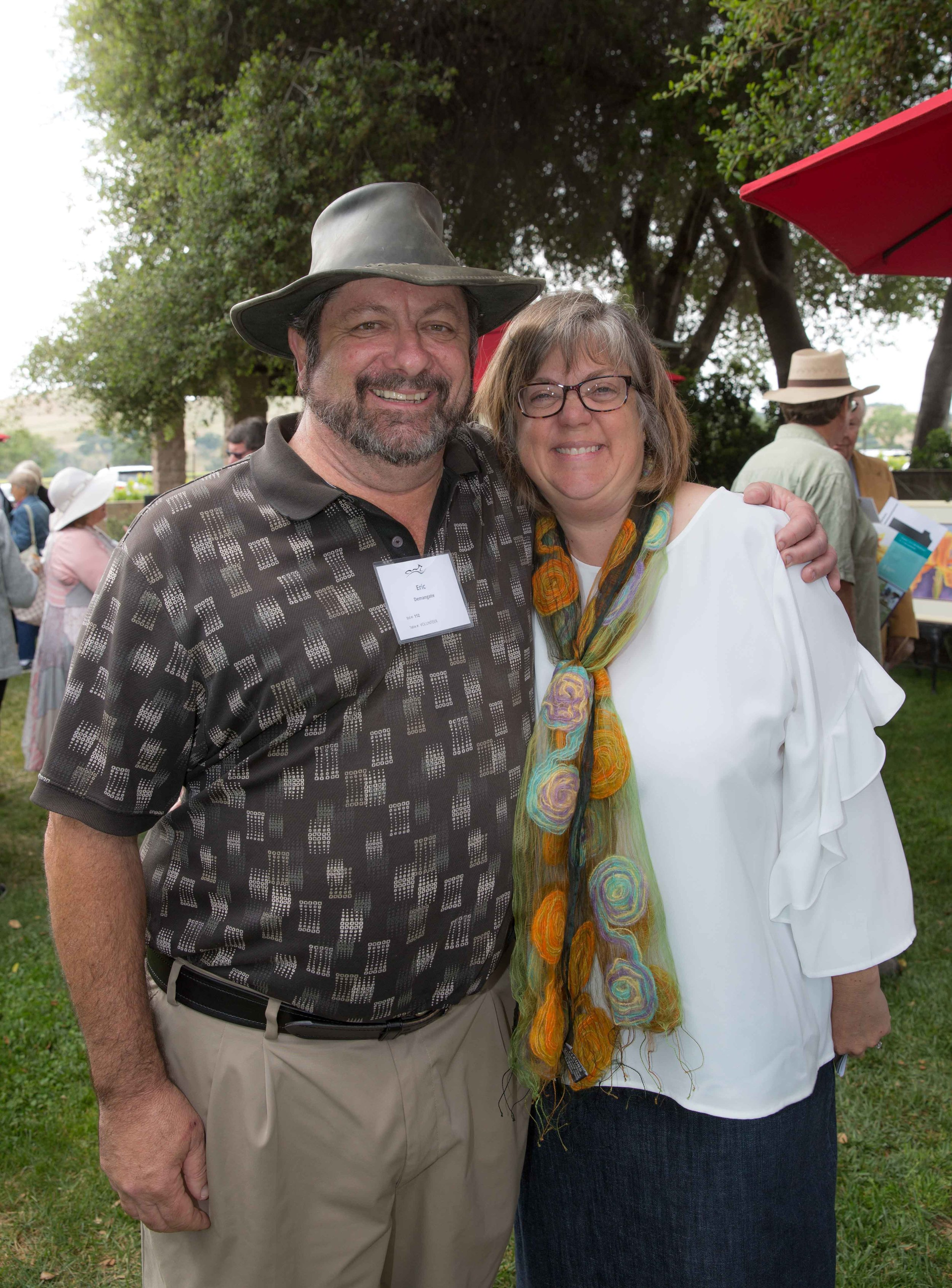 Eric Demangate and Stacey Otte-Demangate, Executive Director
