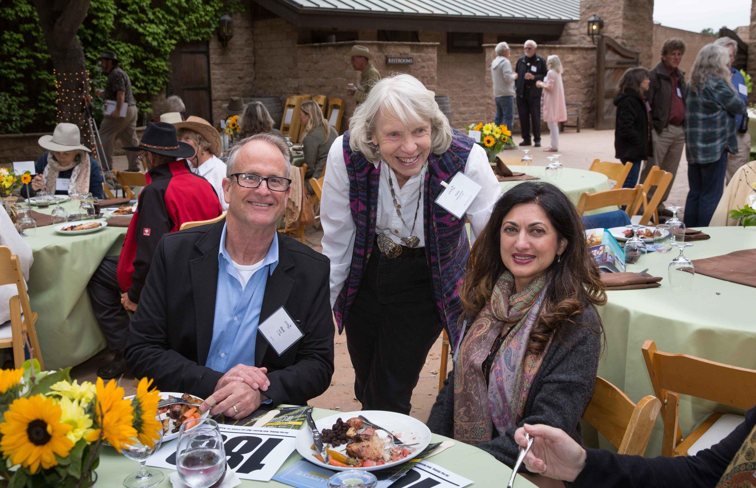Mark Hunt, Patti Jacquemain, Founder, Emeritus, Guest