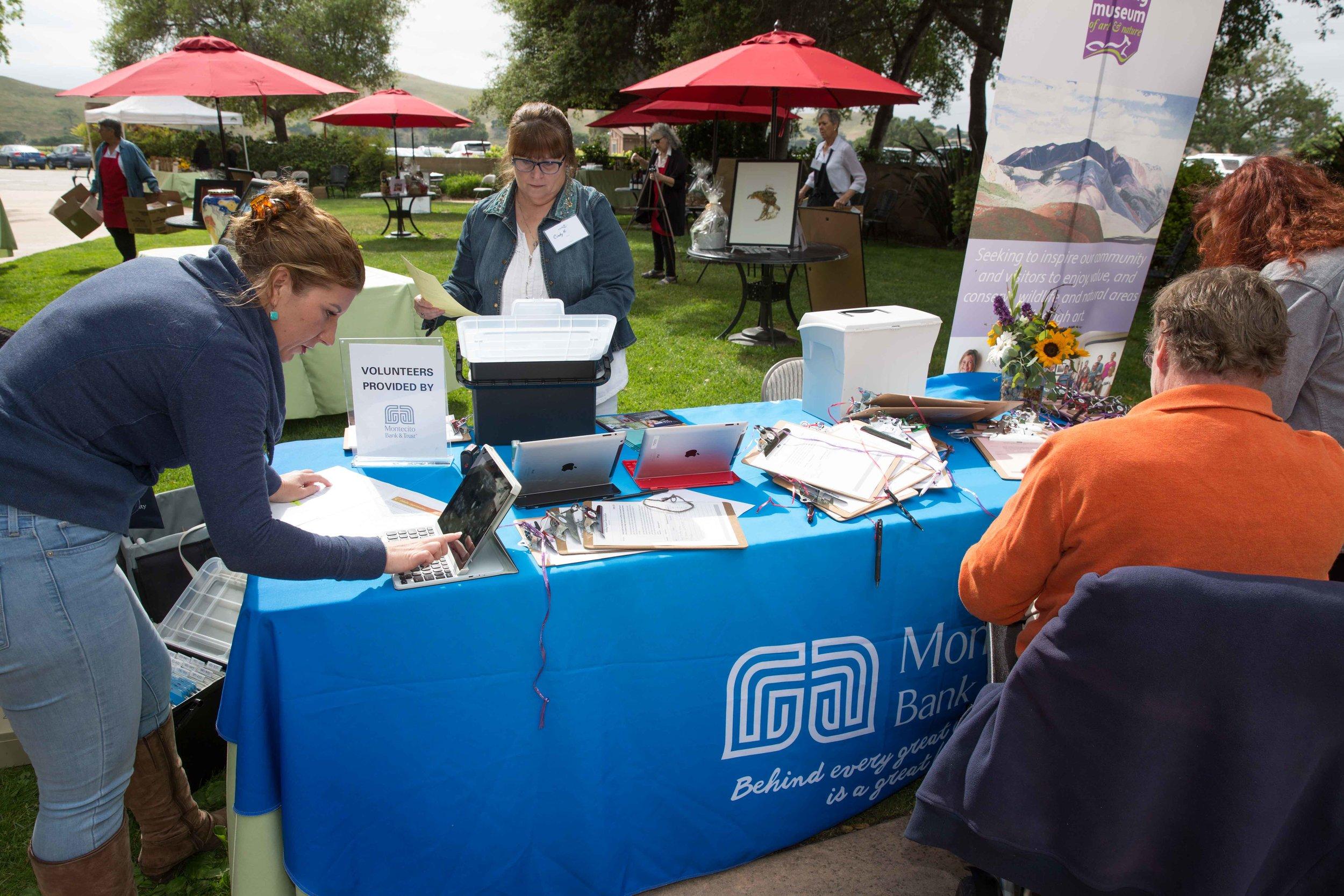 Montecito Bank and Trust Volunteers!