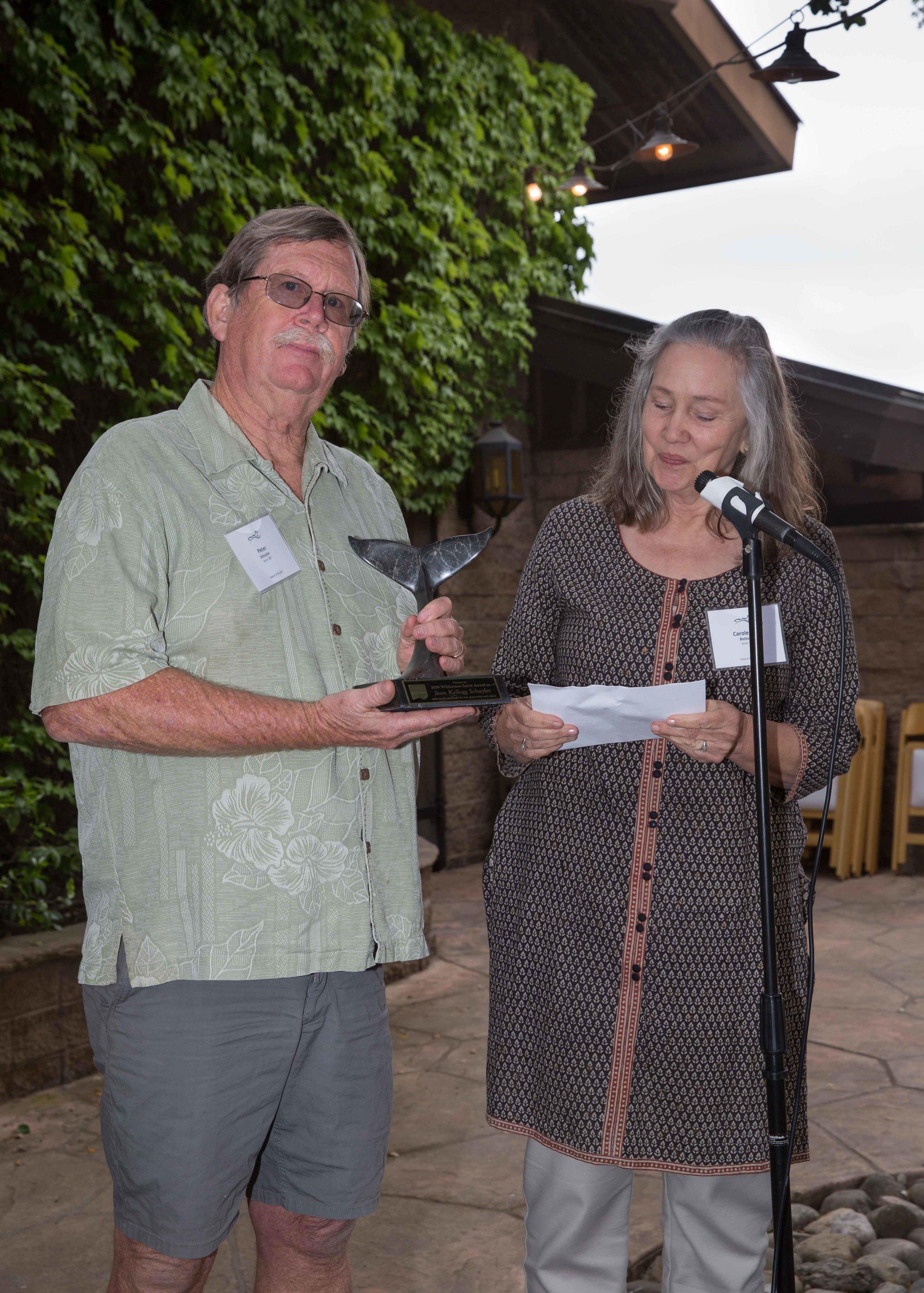 Peter Schuyler and Carole Ann Bottoms
