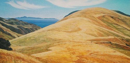View Down Corral Canyon