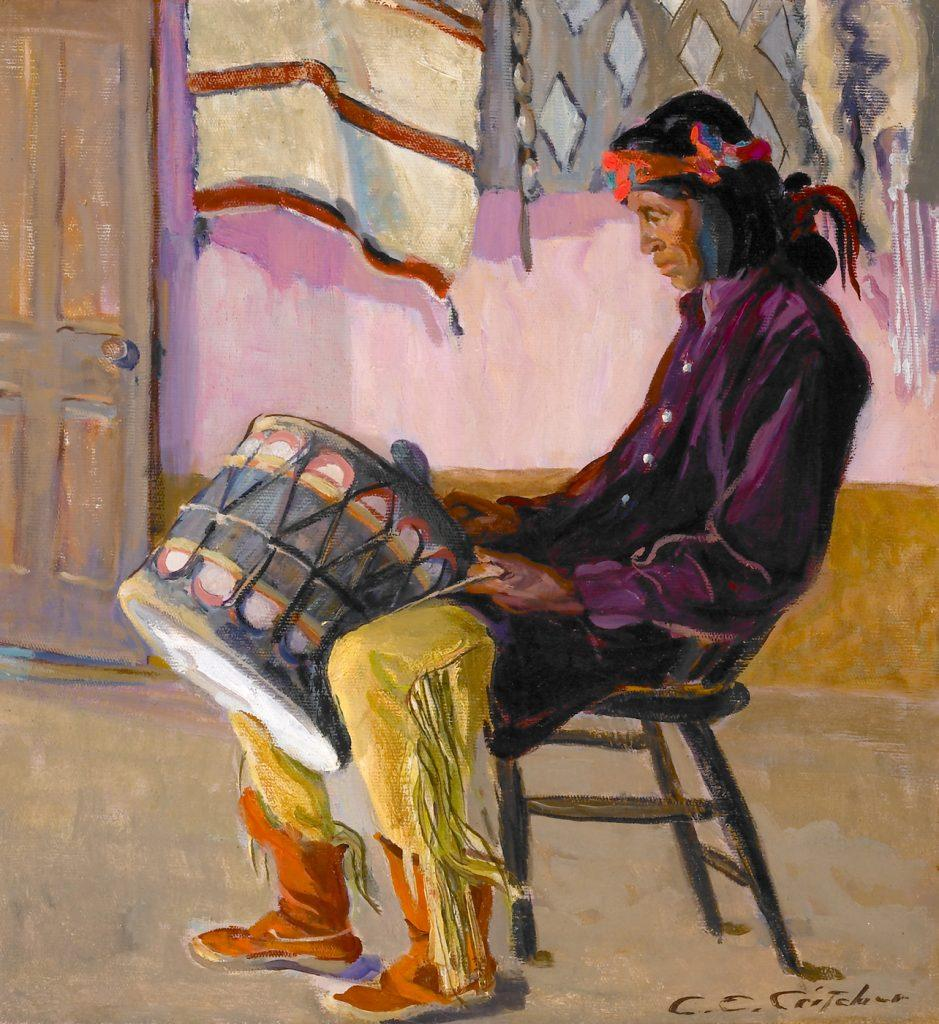 Catharine Critcher, Indian Drummer