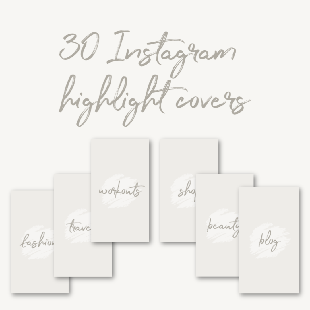 30 Instagram highlight covers   Download them for free by clicking  here