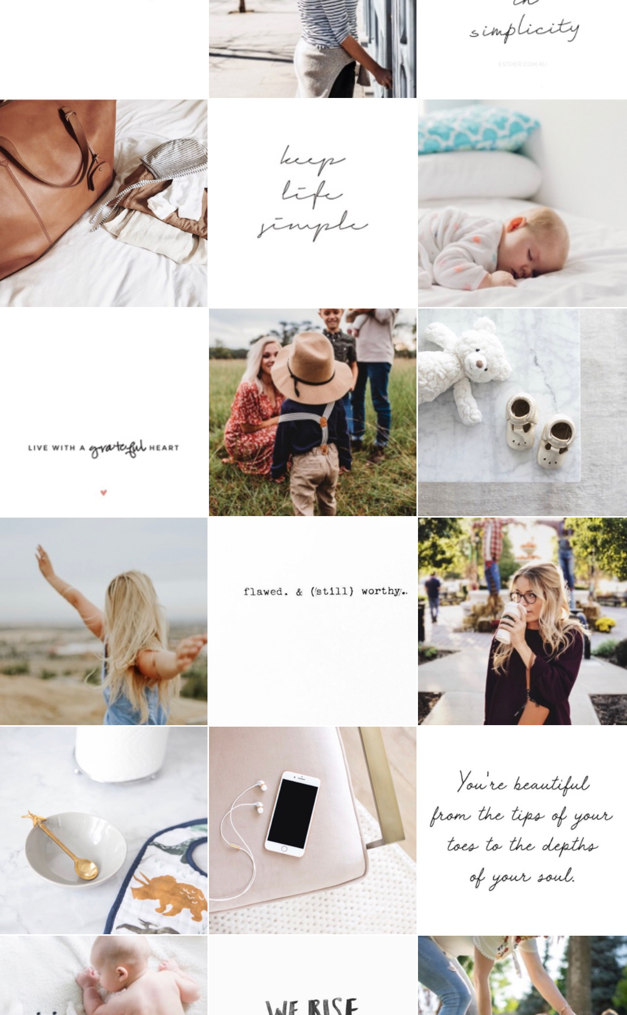 Mommy/Lifestyle, Neutral Theme