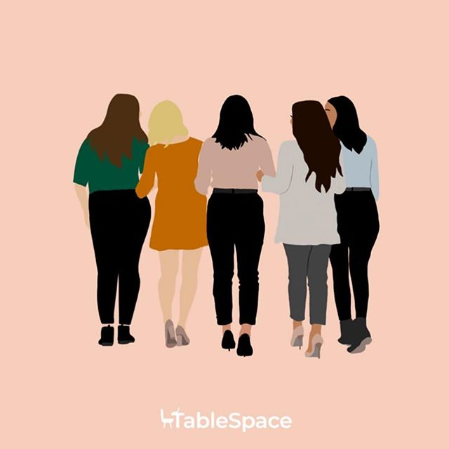 Illustration for @tablespaceco . Have you heard?! Winnipeg's newest coworking space is opening soon! . Check them out to find out more 🧡 . . . . #winnipegcoworking #winnipegcoworkingspace #melodieco #illustrationartist #illustratorsonig #illustrationstyle #illustrationsociety