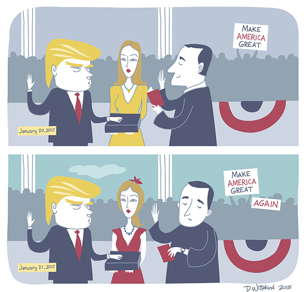 Donald Trump inauguration 2016