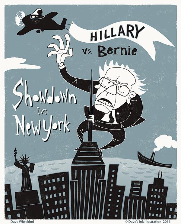 Hillary vs. Bernie- Showdown in New York