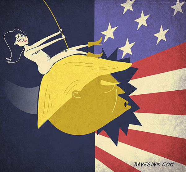 "Sarah Palin's Trump ""Golden Wrecking Ball"""