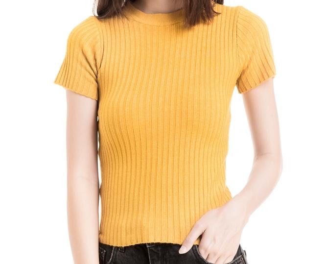 MustardYellow Shirt -