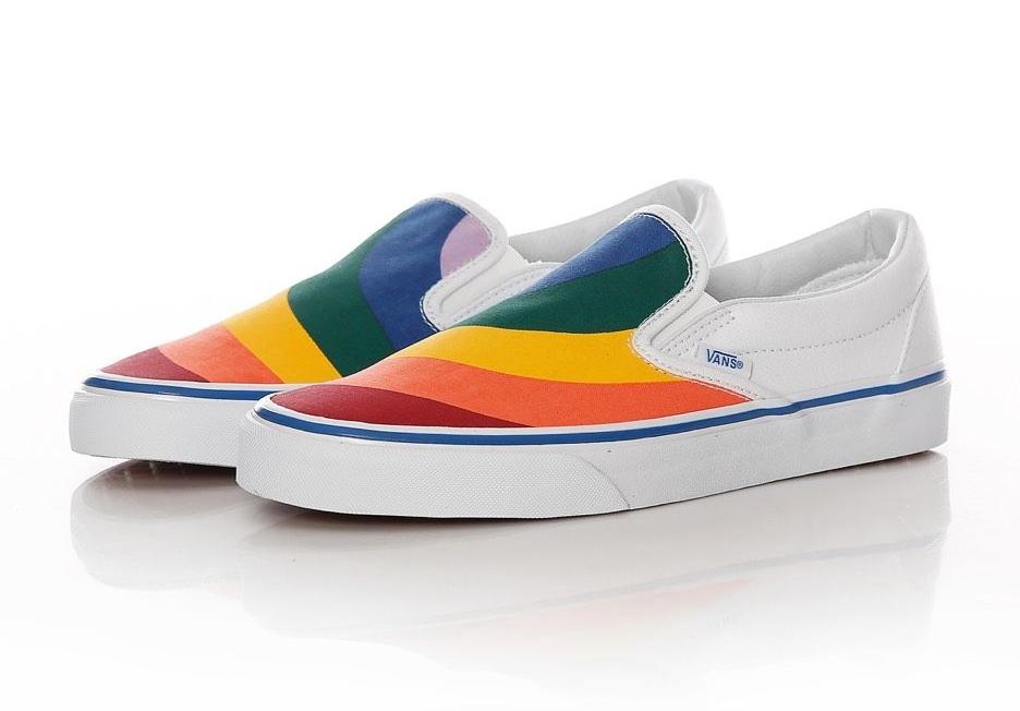 Rainbow Vans -