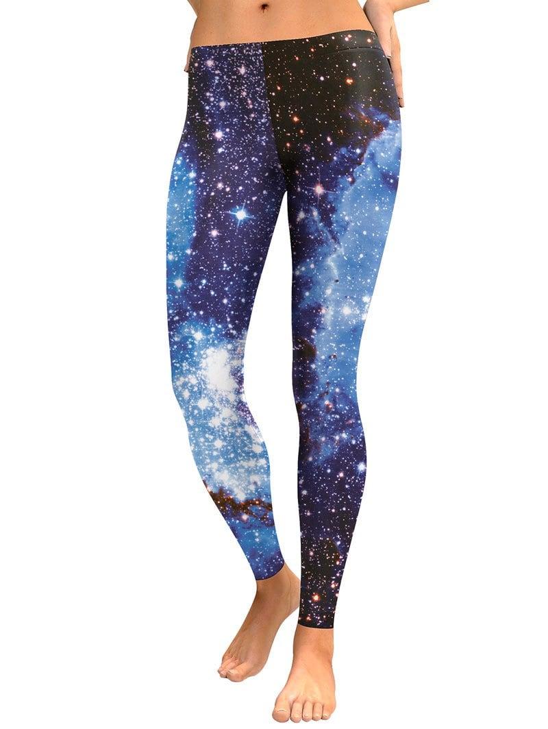 Galaxy Digital Print Leggings -