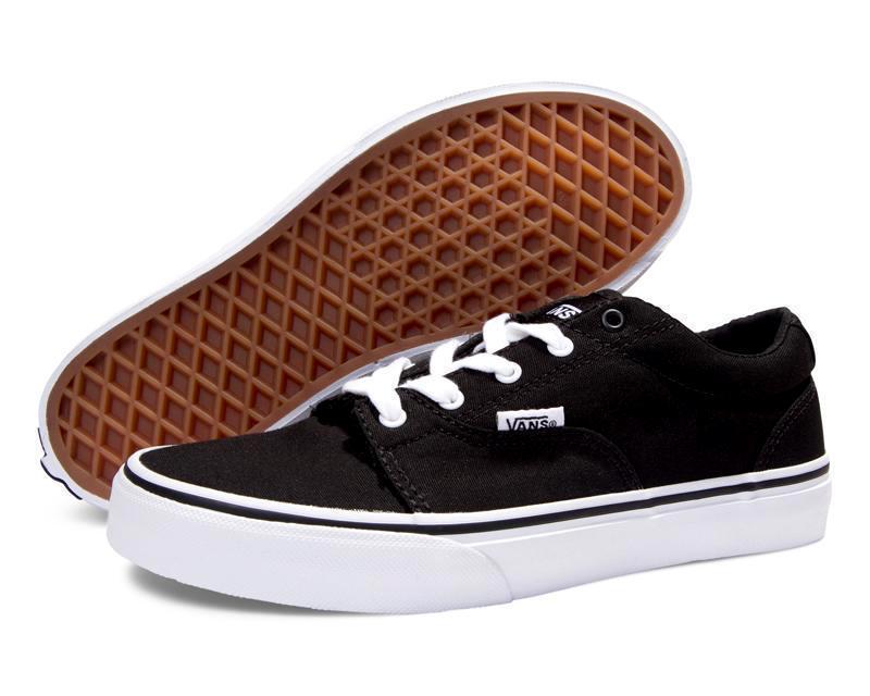 Vans Authentic Black/True White -