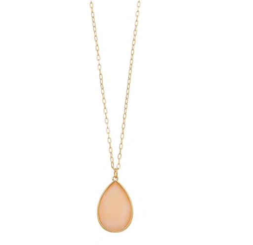 4. Teardrop Pendant Necklace  -