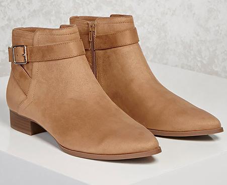 2. Beige Boots -