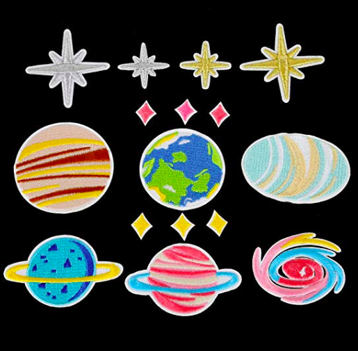 Outer Space Patches -