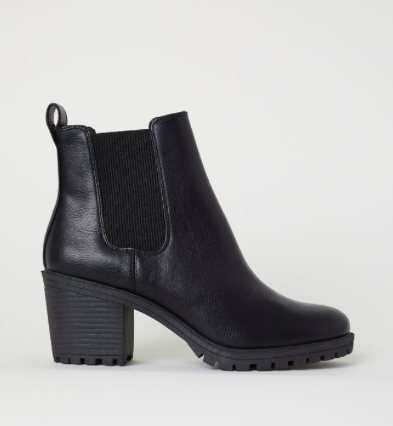 Black Ankle Boots -