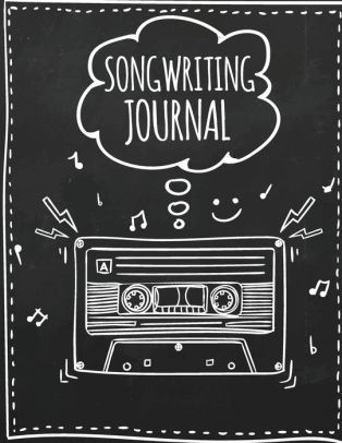 Journal to write songs in. -