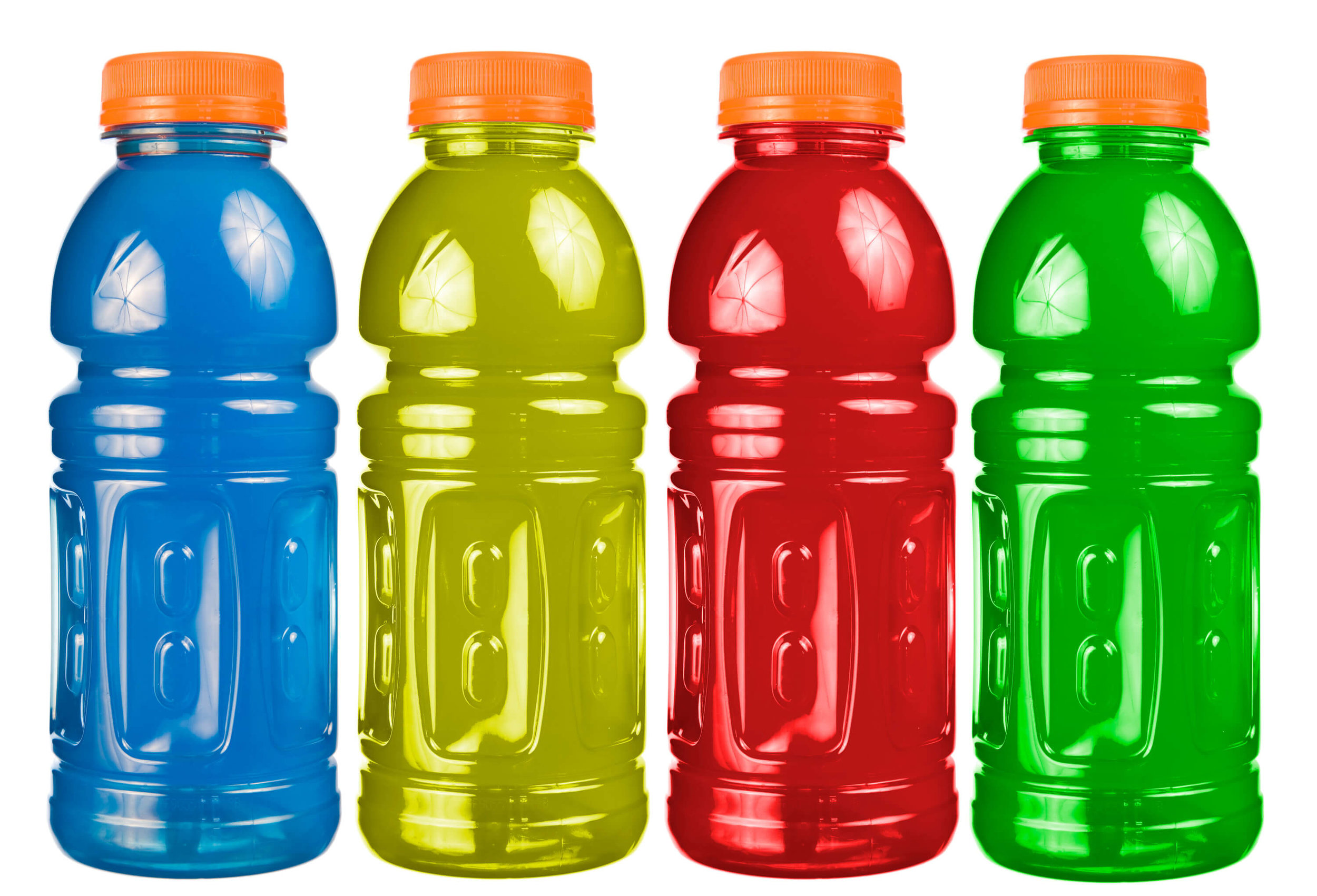 Sports beverages = all day hydration -