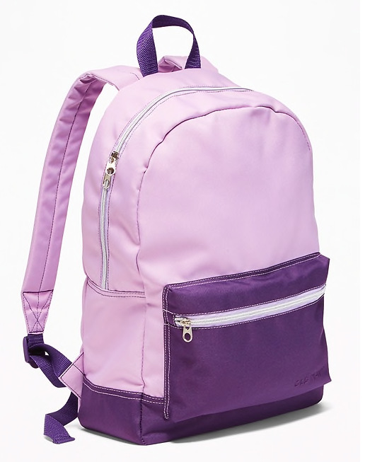 Lilac backpack -