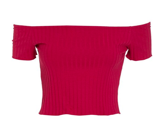 Pink Crop Top - A pop of color creates a much-needed fun feeling.