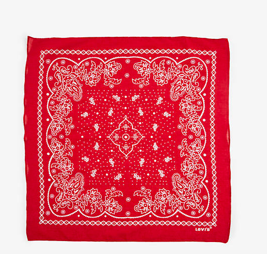 Red Bandana - This fully black ensemble needs a pop of color. This red bandanna will take your look straight to the Wild West.