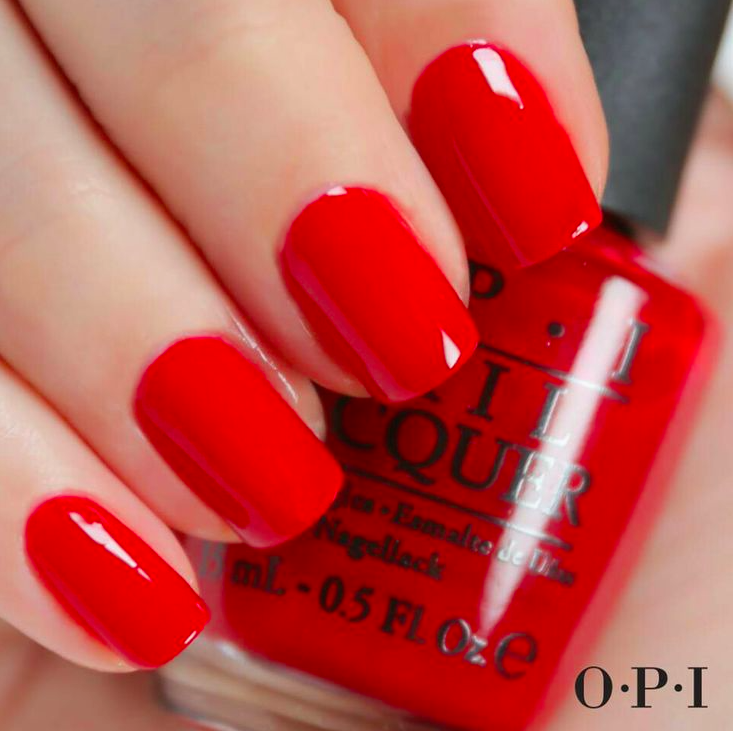 Red Nailpolish - It's like ketchup…but for your nails.