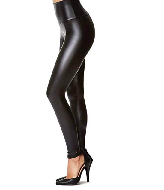 Faux Leather Pants - Abandon poodle skirts, embrace pleather!