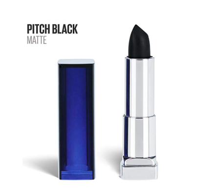 Black Lipstick - Haven't you always kind of wondered what you'd look like in black lipstick? It's time to find out!