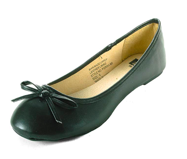 Black Ballet Flats - Classic black flats will get you plenty of mileage for the entire school year.