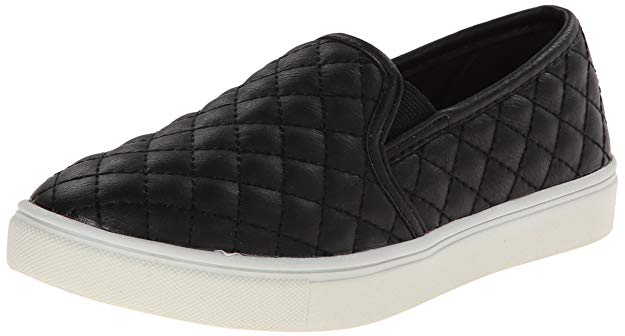 Black slide-on flats - No one will dare mess with you in these bad boys!
