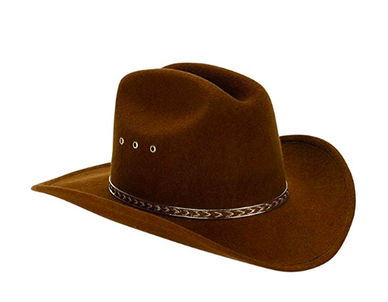 Cowgirl hat - And just like that, you're ready to steal the show!