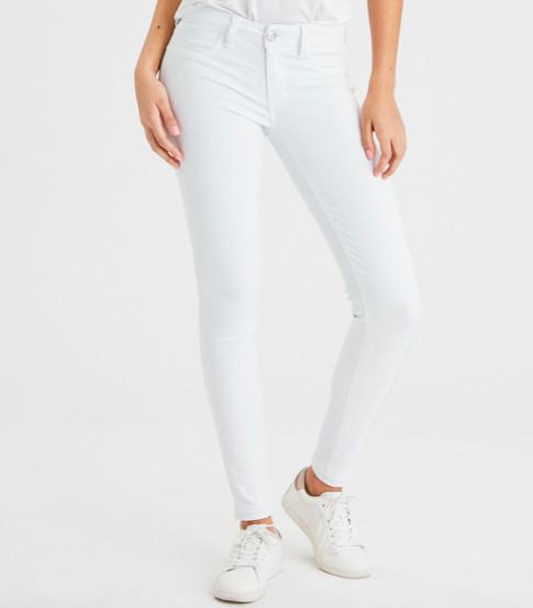 White jeans -