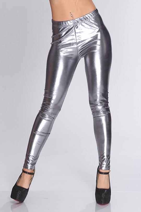 Metallic pants -