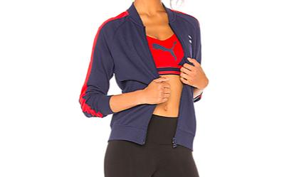 Navy track jacket -