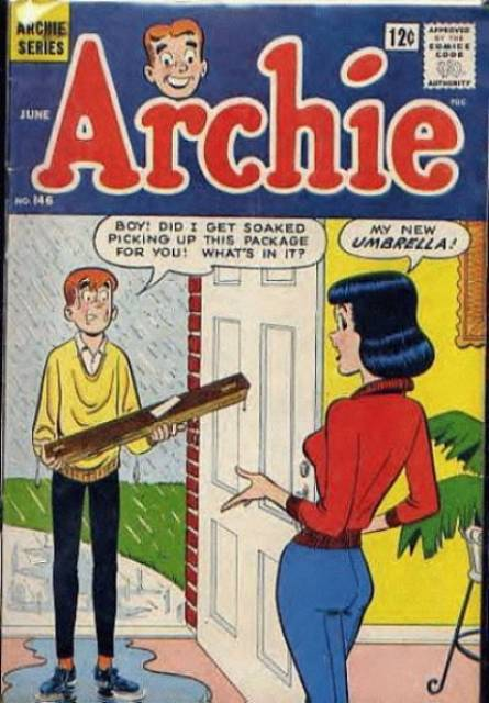 Archie Comics - Jo's a serious reader, but sometimes she like something a little more lighthearted!