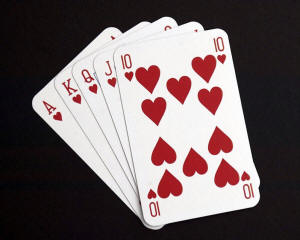 Deck of cards - A great magician gets great with practice! Zoe keeps these in her backpack so she can practice in between classes.