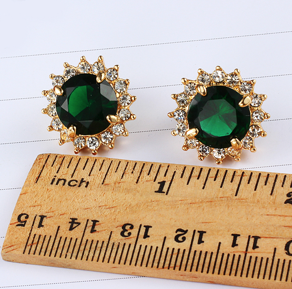 Keep it subtle - Green isn't your thing? Maybe you're more like Indiana Massara and prefer red! If that's the case, put on a pair of earrings and call it a day. No one can accuse you of forgetting to wear green!