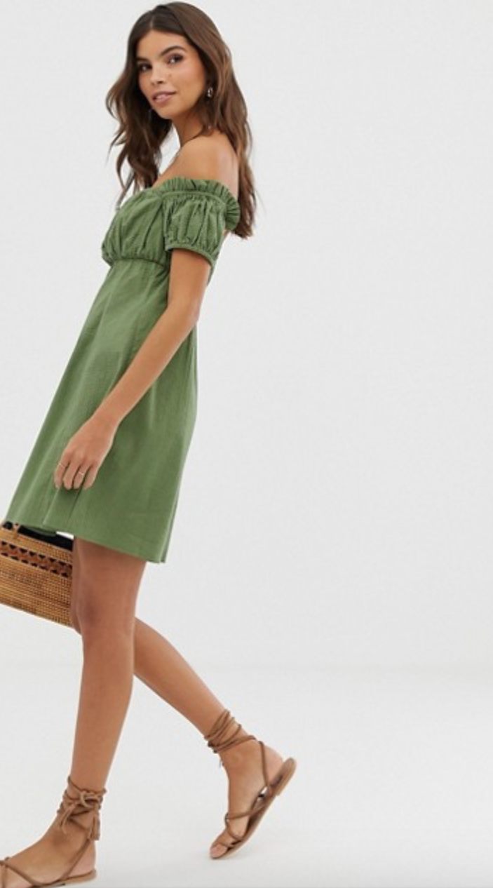 Keep it classy - Maybe you're cool with green but don't want to go crazy about it. Wearing a cute sundress (or really any other item of clothes) in this St. Patrick's Day color will do the trick. Plus, you can probably find this just by opening your closet!