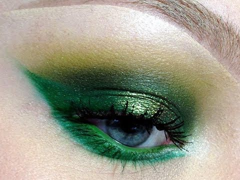 Make it about makeup - No need to wear green clothes. If you prefer, follow a simple makeup tutorial and paint your eyelids emerald!